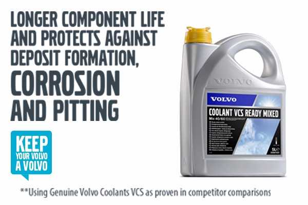 Volvo Coolants - Keep your Volvo a Volvo