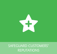 Star Logo for Safeguarding Customer's Reputations
