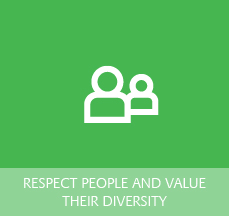 Logo for Respecting People and Valuing their Diversity