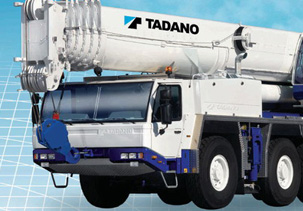 Babcock Africa, Construction Equipment, Tadano