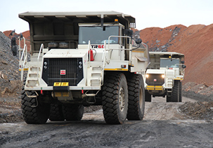 Babcock Africa, Construction Equipment, TEREX TRUCKS