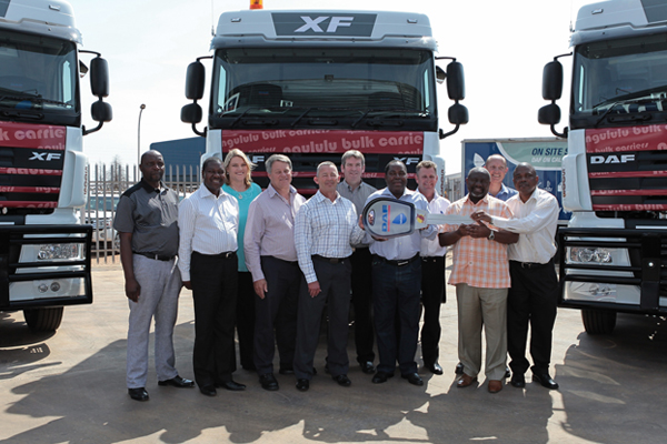 Biggest single order for DAF in SA