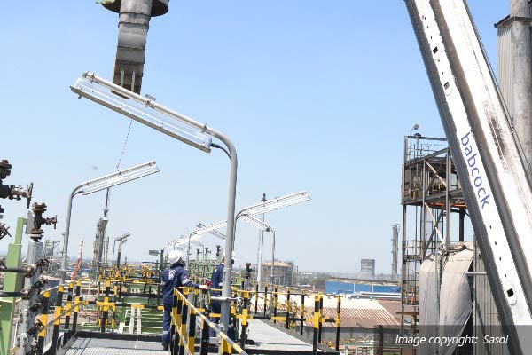 Babcock Africa, Related Articles, Plant Services, Lifting the load for Sasol