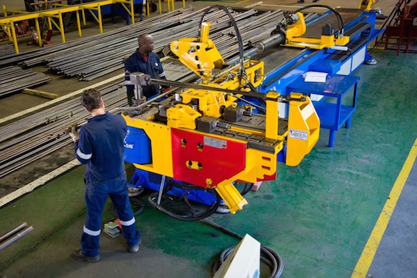 Babcock Africa, Related Articles, Engineering Solutions, New bending machine