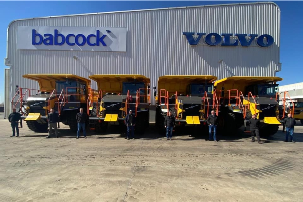 Babcock Africa, Related Articles, Construction Equipment, Atlantis Mining chooses new Volvo R60D rigid haulers