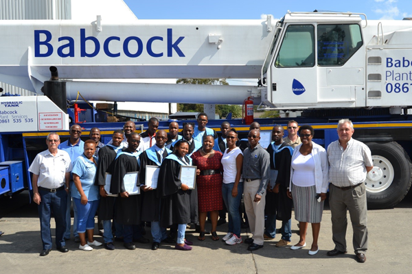 Babcock Africa, Related Articles, Plant Services, Mobile Crane Operator Training