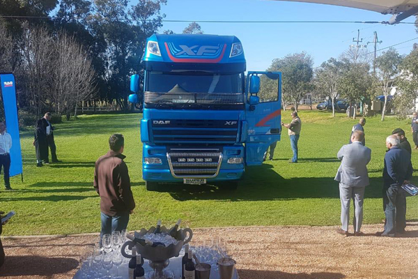 Babcock Africa, Related Articles, DAF, DAF's Super Space Cab on a cross-country road trip