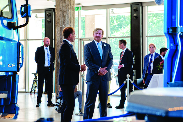 Babcock Africa, Related Articles, DAF, King Willem-Alexander visits DAF Trucks