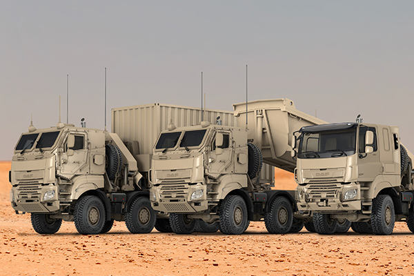 Babcock Africa, Related Articles, DAF, DAF receives large order from Belgian Armed Forces