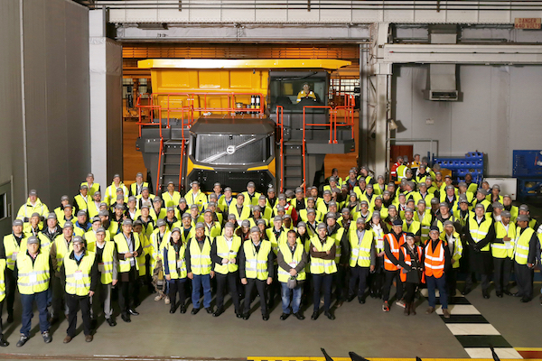Babcock Africa, News, International launch of Volvo Rigid Haulers