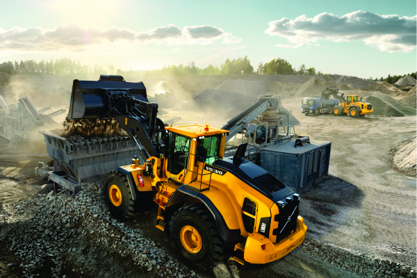 Babcock Africa, News, Volvo wheel loaders a hit in SA