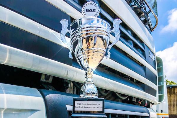 Babcock wins DAF sales award