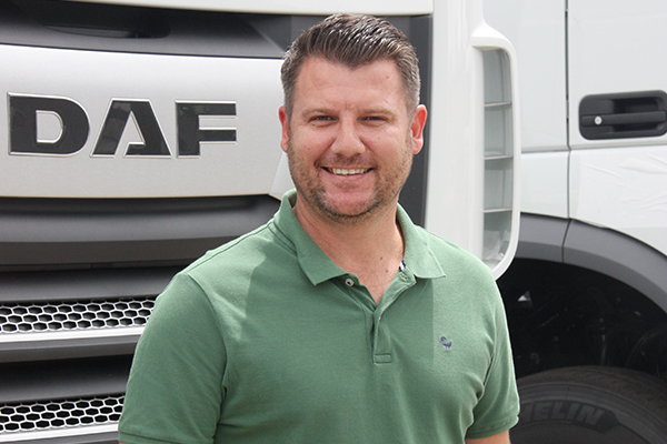 Rhenier Kapp, newly appointed Business Development Manager - Transport Solutions
