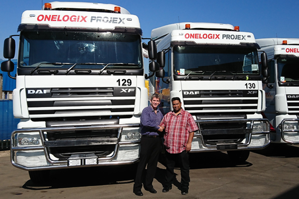 Babcock Africa, Related Articles, DAF, OneLogix Projex expands their fleet of DAF Trucks