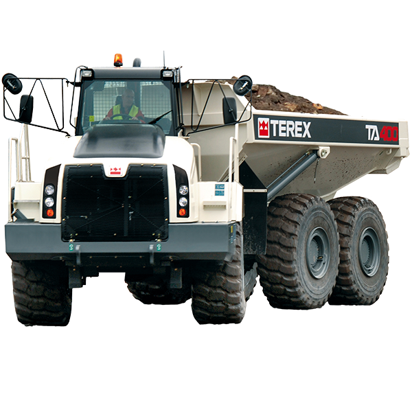 Babcock Africa, TEREX TRUCKS, ARTICULATED DUMP TRUCKS