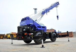 Babcock Africa, Construction Equipment, Rough Terrain Cranes
