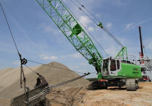 Babcock Africa, Construction Equipment, Duty Cycle Cranes & Dragline