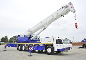 Babcock Africa, Plant Services, Crane Hire
