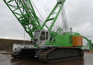 Babcock Africa, Construction Equipment, Crawler Cranes
